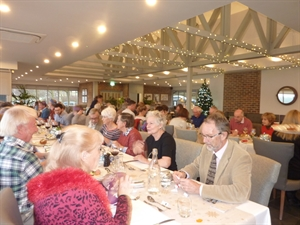 A convivial Christmas lunch at the Boat House Bistro